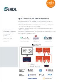 OPC UA/TSN: OSADL - Open Source Automation Development Lab eG